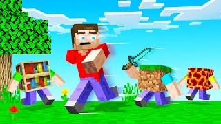 MINECRAFT But The BLOCKS ATTACK You!