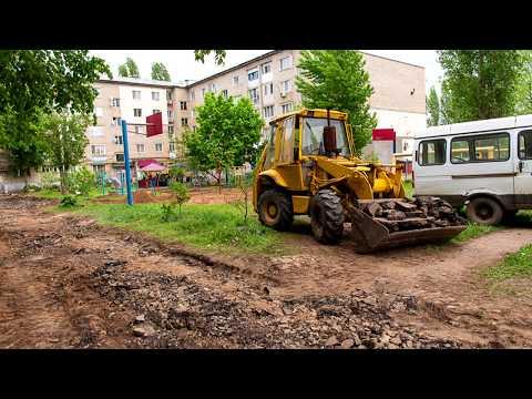 Работы по благоустройству города не останавливаются