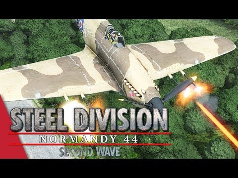 2nd APT Round 2! Steel Division: Normandy 44 - Ku2521 vs Gal_Oneill (Mont Ormel, 1v1)