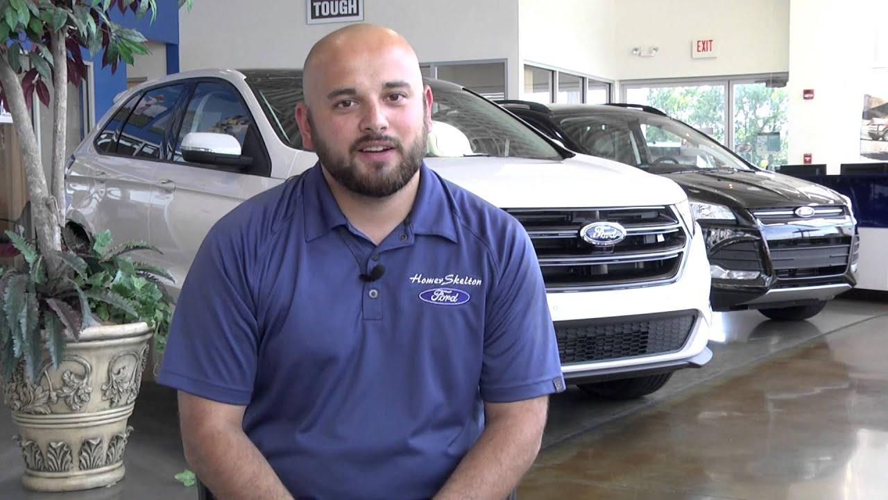 Homer Skelton Ford Sales Representative Justin Serda