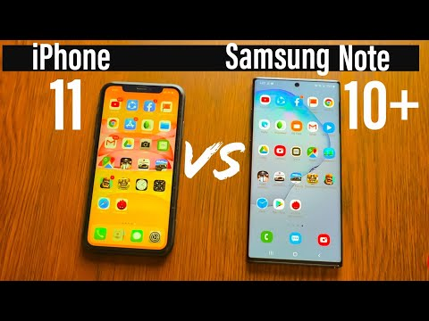 IPhone 11 Vs Samsung Galaxy Note 10 Plus Speed Test | Ai Source