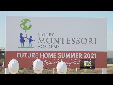 Ground breaking for for new Valley Montessori Academy pre-school held in Southwest Bakersfield