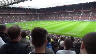 just can t get enough swansea city fans vs man utd 6 may 2012