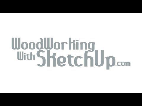 SketchUp Sliding Dovetail