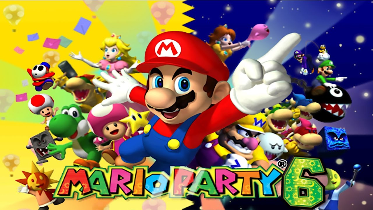Mario Part 6 1 Party Party Mode