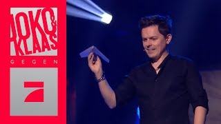Michael Patrick Kelly & Matthias Opdenhövel basteln Papierflieger | Joko & Klaas gegen ProSieben