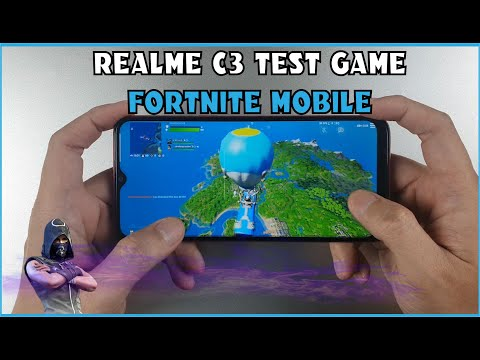 Realme C3 Test Game Fortnite Mobile | Can Run Fortnite On Helio G70 ?
