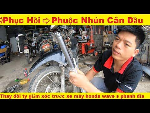 Phục Hồi phuộc nhún | Căn dầu giảm xóc  trước đi cực êm xe Honda
