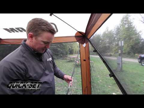 Quick-Set Screen Shelter: The Traveler - YouTube