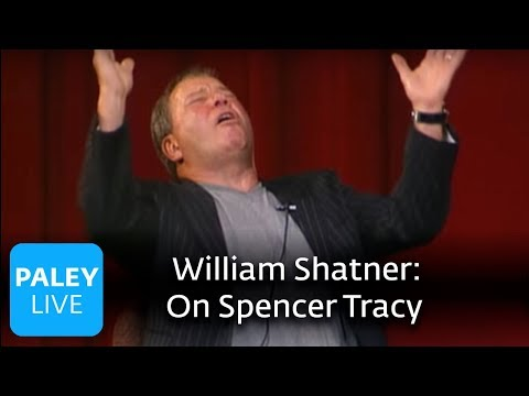William Shatner - Working with Spencer Tracy (Paley Center, 2004)