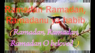 MAHER ZAIN LYRICS - Ramadan English Version