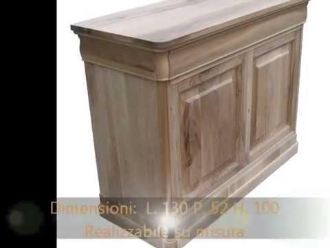 Produzione artigianale mobili classici in stile arte povera milano ...