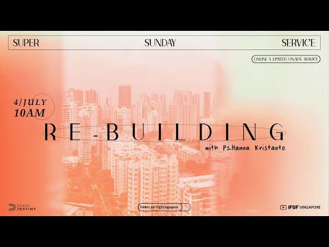 LEADING INSIDE OUT: #REBUILDING - PS. HANNA KRISTANTO