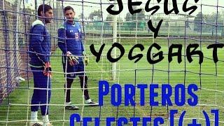 """Entrenamiento de porteros en """"Cruz Azul #Corona y #Yosgart"""