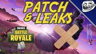 Fortnite Patch & Leaks: Shadow Bomb is Broken, Overtime Challenges, Unvaulted Event News!!