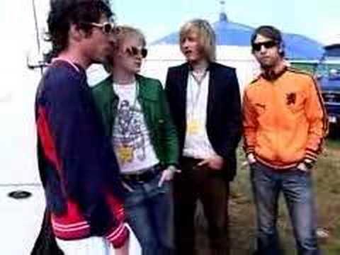 DELAYS - Glastonbury Interview 2004