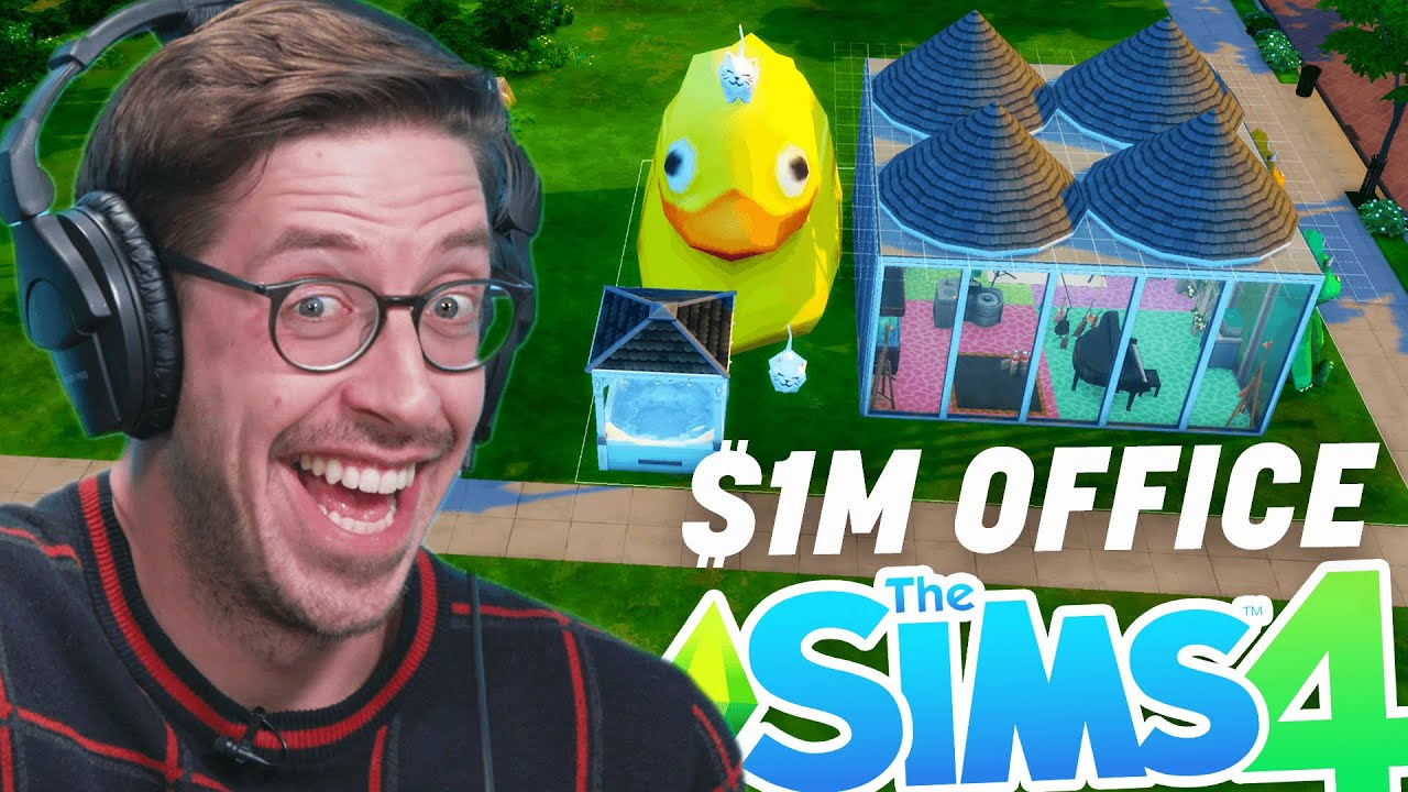 Download Try Guys $1,000,000 Office Competition In Sims 4
