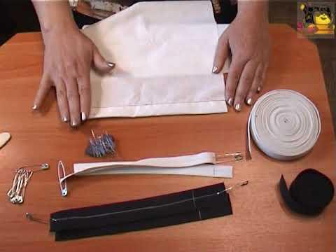 Как вшить резинку в штаны внизу
