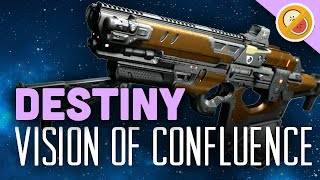 DESTINY Vision of Confluence Fully Upgraded Legendary Review (Funny Moments)