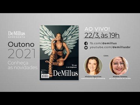 Live DeMillus apresenta novidades para a estação