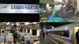 Trip by Train - Riding Argo Bromo Anggrek Malam from Surabaya to Jakarta