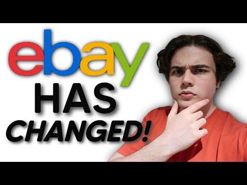 HUGE EBAY CHANGES! 2020 Fall Seller Update - Full Overview
