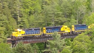 CMQ North Bound Chase On The Searsport Sub - 6/10/2015