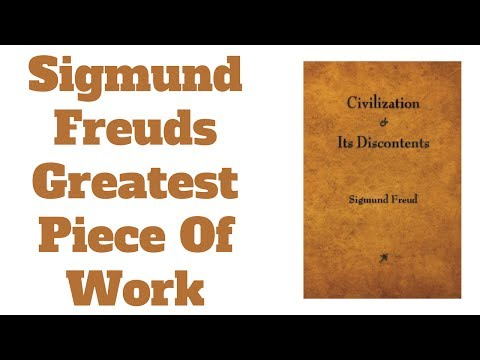 Sigmund Freud - Founder Of Modern Psychology - Civilization And It's Discontents Book Review