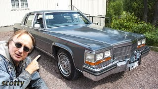 This Car Has Seen More of the World than You - 1989 Cadillac Brougham in Sweden thumbnail