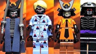 Ниндзяго Гармадон LEGO Ninjago Movie минифигурки и все версии