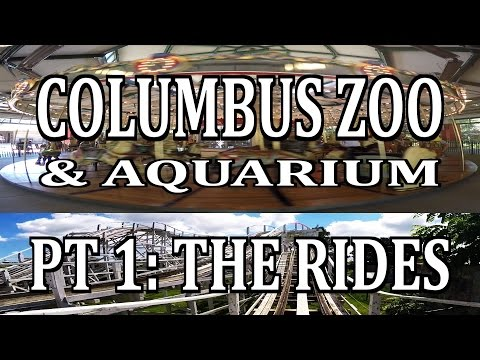 Columbus Zoo & Aquarium Pt 1: THE RIDES