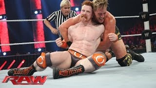Sheamus vs. Jack Swagger - Intercontinental Title Tournament Match: Raw, April 14, 2014