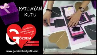 Gözdem Hediyelik - Patlayan Kutu Modelleri