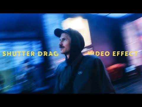 Shutter Drag Video Effect For Your Phone