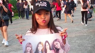 Black Pink World Tour 2019 in Bangkok!! น้องควีน ตื่นเต้นหนักมากกก ดูคอนเสิร์ต Black Pink!!