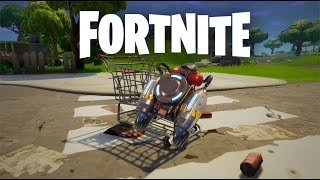 Jet Pack And Shopping Cart | Fortnite