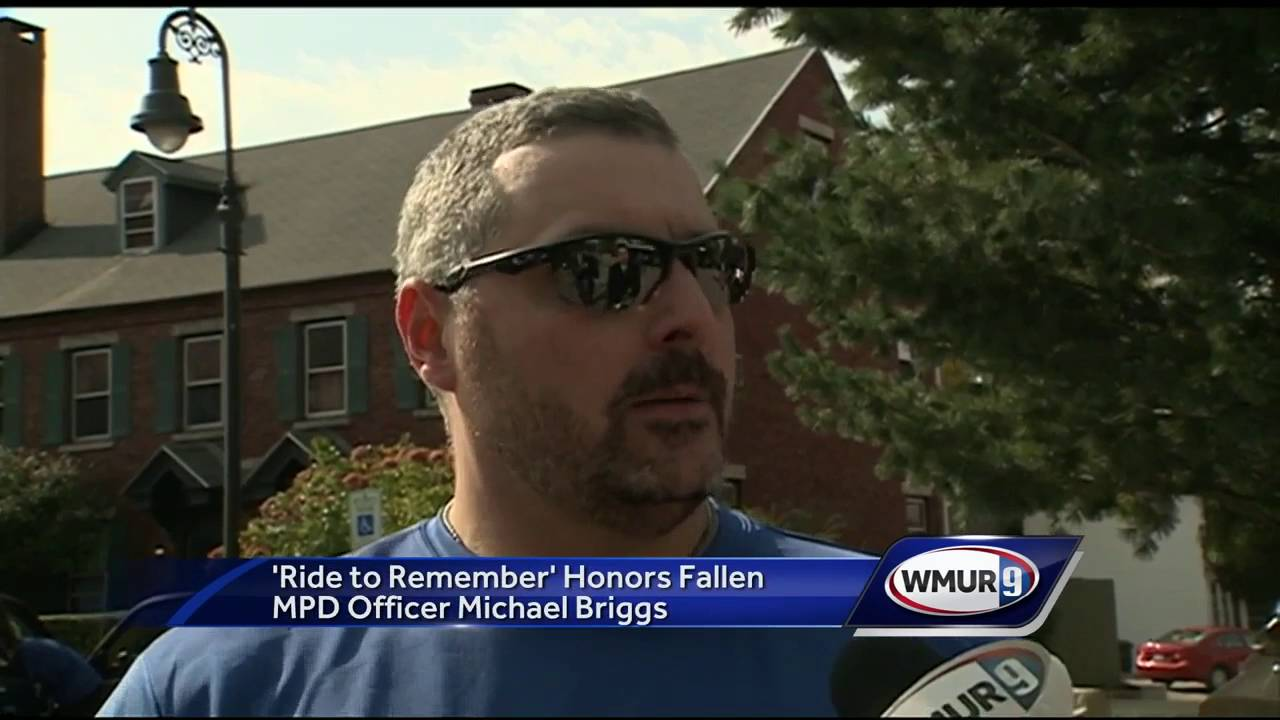 'Ride to Remember' honors fallen Manchester police officer Michael Briggs