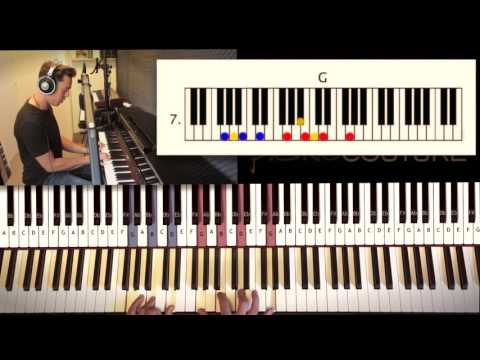 How To Play: Jamie Cullum | These Are the Days - Piano Tutorial by Piano Couture