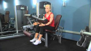 Life Fitness Signature Series Seated Leg Curl Instructions