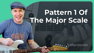 Make Music with Pattern 1 of Major Scales