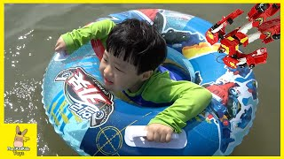Hello Carbot Kitty Swimming pool Sea Toys Family Fun Play | MariAndKids Toys