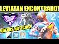 Destiny 2 - Leviatan Visto en el Juego! Oryx! Las Pruebas de los Nueve! Auras! Nuevo Criptarca!