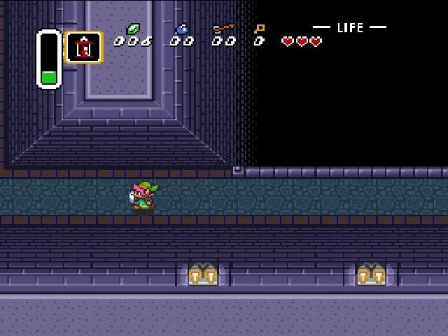 Jouez à The Legend of Zelda, A Link to the Past sur Super Nintendo