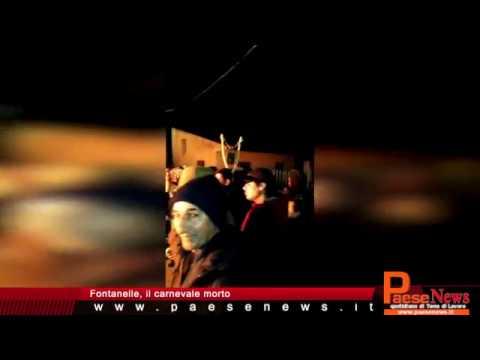 Fontanelle, il carnevale morto