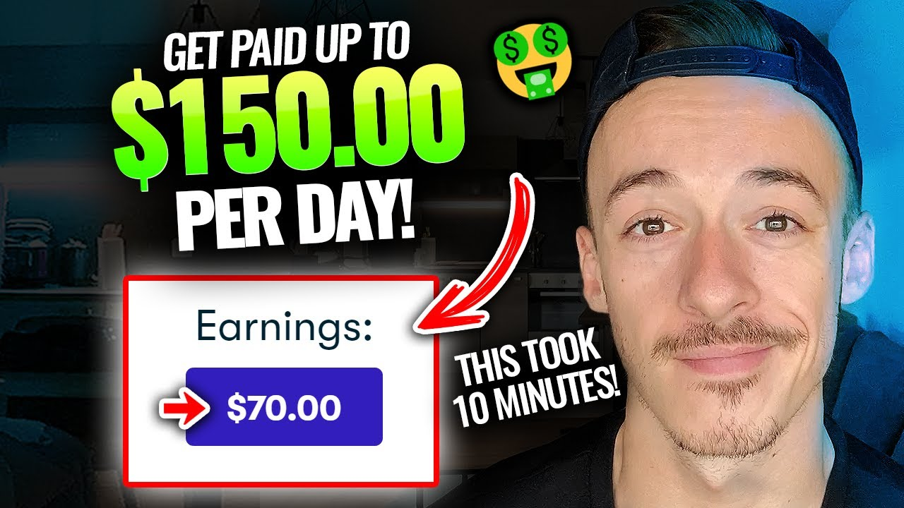Make $70 EVERY 10 Minutes For FREE! ($150+ DAILY!) | Make Money Online FAST 2021