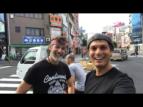 Osaka Neighborhood Adventure w/ Kevin