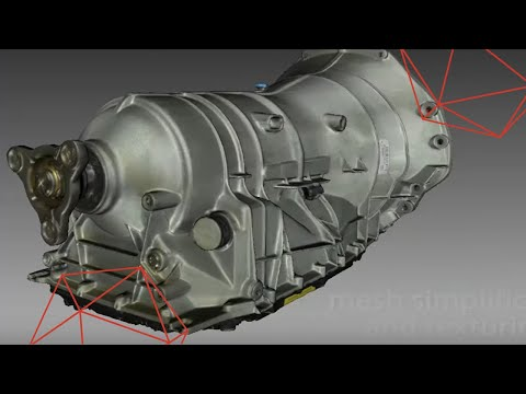 Precision 3D Scanning of An Automotive Transmission With Artec Eva