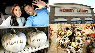 SHOP WITH ME AT HOBBY LOBBY! FALL 2017!