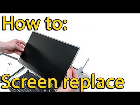 Asus X540, X540S, X540L disassemble and replace screen, как разобрать и поменять матрицу
