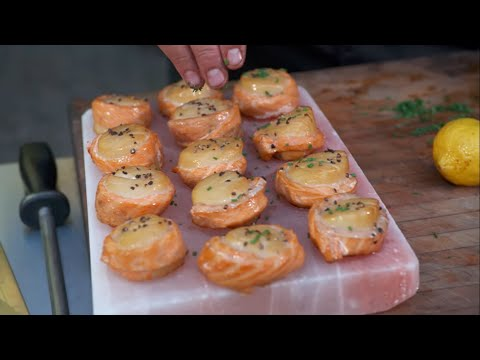 Smoked Salmon Wrap - Bradley Smoker & Ted Reader